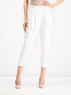 iBlues Spodnie materiałowe Cheer 71310892 Biały Regular Fit