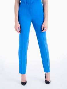 Niebieskie klasyczne spodnie w kant Potis & Verso VITA