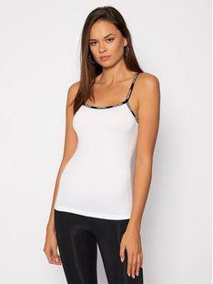 Dsquared2 Underwear Top D8DA03190 Biały Slim Fit