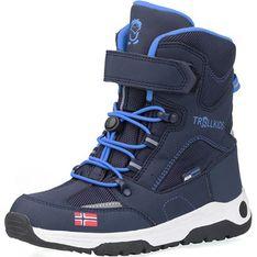 Buty zimowe dziecięce Trollkids na rzepy