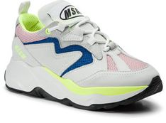 MSGM Sneakersy Attack Sneakers 2642MDS2086 700 12 Biały