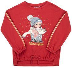 Primigi Bluzka Glam Winter 44212811 Czerwony Regular Fit