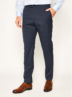 Strellson Spodnie materiałowe Madden 30020952 Granatowy Extra Slim Fit