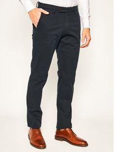 Digel Spodnie materiałowe Lago-G 88142 Granatowy Slim Fit