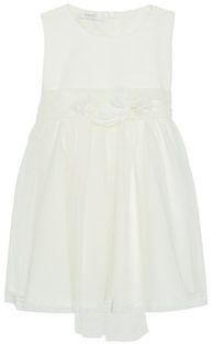 Liu Jo Kids Sukienka elegancka HF0007 J9986 Biały Regular Fit