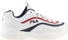 Buty sportowe damskie Fila sneakersy młodzieżowe tkaninowe bez wzorów