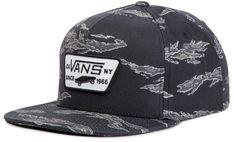 Czapka z daszkiem VANS - Full Patch Snap VN000QPUWUE Black/Tiger