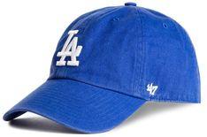 Czapka z daszkiem 47 BRAND - Los Angeles Dodgers B-RGW12GWS-RY Granatowy