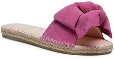 Manebi Espadryle Sandals With Bow M 3.4 J0 Różowy