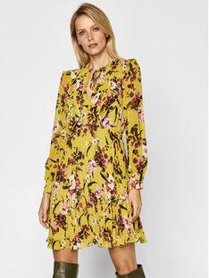 iBlues Sukienka codzienna Dingo 72260107 Żółty Regular Fit