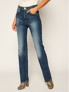 Pinko Jeansy Regular Fit Futura Straight AL 20-21 PDEN2 1J10K4 Y6KC Granatowy Regular Fit