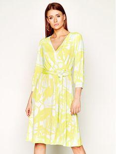 Laurèl Sukienka codzienna 11038 Żółty Regular Fit