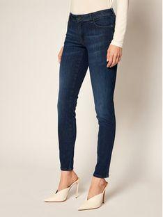 Guess Jeansy Skinny Fit Ultra Curve W0YA87 D42J1 Granatowy Skinny Fit
