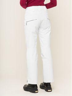 Descente Spodnie narciarskie Selene DWWOGD23 Biały Slim Fit