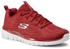 Buty SKECHERS - Get Connected 12615/RED Red