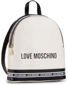 Plecak LOVE MOSCHINO - JC4109PP1BLR110A Mix Bia/Ner
