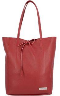 Shopper bag Vittoria Gotti mieszcząca a7 matowa na ramię