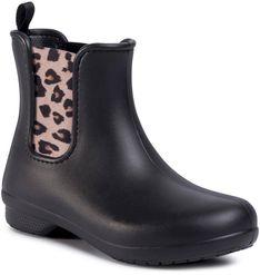 Kalosze CROCS - Freesail Chelsea Boot W 204630 Leopard/Black