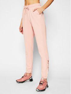 Columbia Spodnie dresowe French Terry 1933261 Różowy Regular Fit