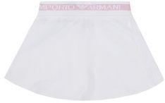 Emporio Armani Spódnica 3H3N06 4J23Z 0100 Biały Regular Fit
