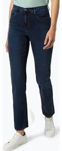 Jeansy damskie niebieskie Brax bez wzorów