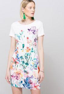 Letnia sukienka z kwiatowym printem