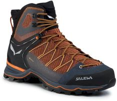 Trekkingi SALEWA - Ms Mnt Trainer Lite Mid Gtx GORE-TEX 61359-0927 Black Out/Carrot 0927