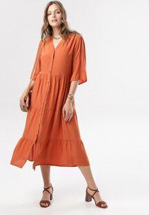 Łososiowa Sukienka Alathei