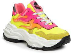 Sneakersy BUFFALO LONDON - Eyza P BN15300981 Neon/Yellow/Orange/Pi