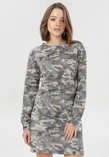 Khaki Sukienka Charnore