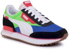 Sneakersy PUMA - Future Rider Play On Jr 372349 01 PumaB/Fluo Green/Dazzing Blue