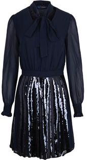 Sukienka Trussardi Jeans rozkloszowana mini