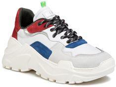 Sneakersy GOE - FF1N3033 White/Red