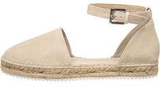 Espadryle damskie Marc O'polo Shoes letnie skórzane