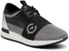 Sneakersy POLLINI - SA15063G1AT1200A Rete/Vit.Ner