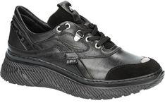 Buty sportowe damskie Simen sneakersy młodzieżowe sznurowane bez wzorów welurowe