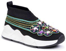 Sneakersy DESIGUAL - Sock Beads 20SSKK08 2000