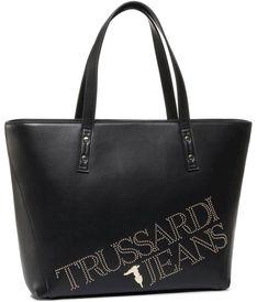 Torebka TRUSSARDI JEANS - Shopper E/W Lg 75B00892 K299