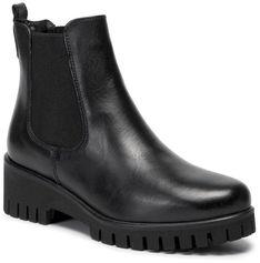 Sztyblety TAMARIS - 1-25461-23  Black Leather 003