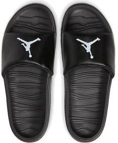 Klapki męskie czarne Jordan