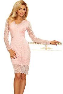Sukienka Ptakmoda.com dopasowana koronkowa na urodziny