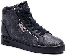 Sneakersy GUESS - Brina FL7BRN FAL12 BLACK/GREY