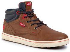 Sneakersy LEVI'S - VPOR0021S Cognac 0241