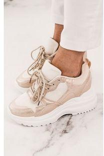 Buty sportowe damskie Shopaholics Dream sneakersy młodzieżowe płaskie