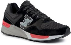 Sneakersy POLO RALPH LAUREN - Trackstr 100 809778669003  Bl/M Grey
