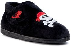 Kapcie CHIPMUNKS - Jolly Roger CH190 Black 902