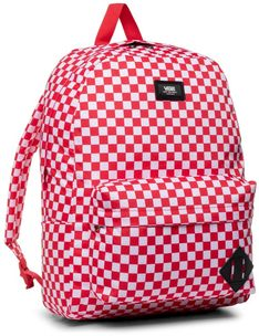 Plecak VANS - Old Skool III B VN0A3I6RRND1 Red Check