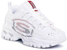 Sneakersy SKECHERS - Sky Vision 149052/WNVR White/Navy/Red