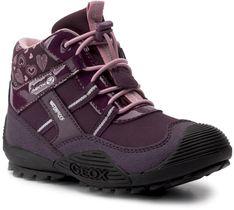 Śniegowce GEOX - J Atreus G.B Wpf A J847HA 00450 C8224 S Purple/Pink