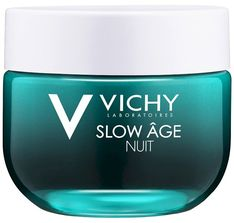 Vichy Slow Age Nuit, krem-maska na noc, dotlenienie i regeneracja, 50 ml